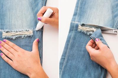 Fashion Hacks : Jangan Disimpan Saja, Ini Tips Memanfaatkan Celana Jeans yang Sudah Robek