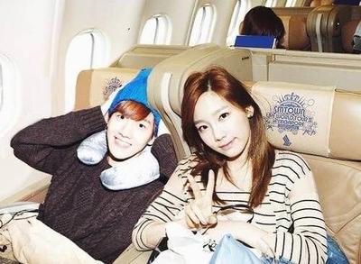 Baekhyun EXO dan Taeyeon SNSD