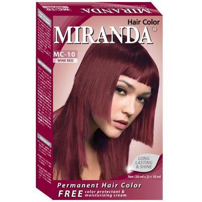 2. Miranda Premium MC-10 Cat Rambut - Wine Red