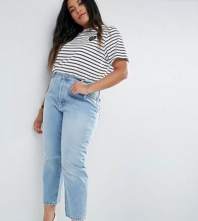 Straight Jeans for Hourglass Body