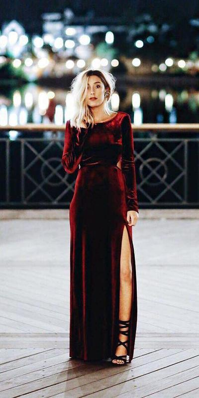 Velvety Dress/Fashion Item