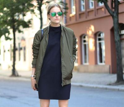 Bomber Jacket - Green Army