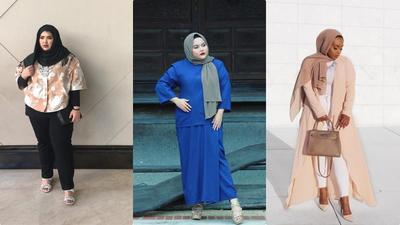 Ladies, Ini Dia Outfit yang Cocok Untuk Hijabers Bertubuh Plus Size!