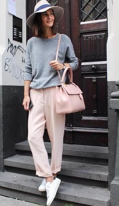 Pink Pastel & Abu-Abu