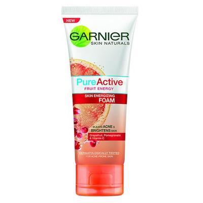 Garnier Pure Active Fruit Energy Skin Energizing Foam