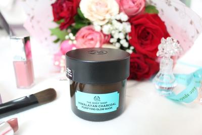Dupes Glam Glow, The Body Shop  Himalayan Charcoal Purifying Glow Mask Ini Bagus Banget Untuk Kulit Berminyak!