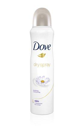 Dove Dry Spray Antiperspirant Deodorant Soothing Chamomile
