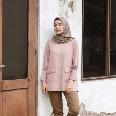Punya Model Kekinian, Ini Online Shop yang Menjual Atasan Hijab di Bawah Harga 150 Ribu Saja