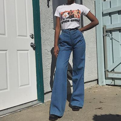 Pair It with Wide Leg Jeans