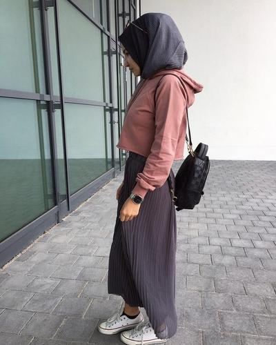 Hoodie with Skirt