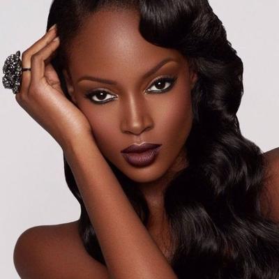 Dark Brown Lipstick for Warm Toned Skin