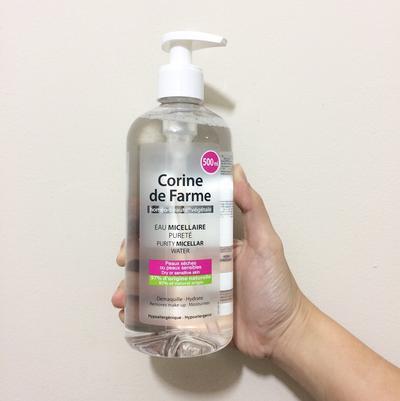 #FORUM Ada yang Pernah Cobain Micellar Water dari Corine de Farme??