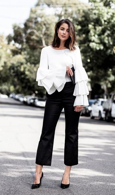 Ruffles Details on Your Tops