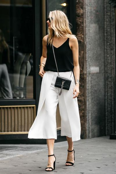 Culottes and Strappy Heels: Perfect Combos!