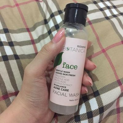 Mineral Botanica Face Acne Care Facial Wash