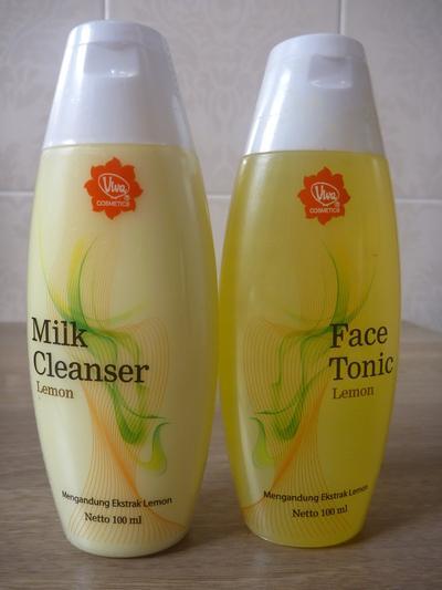 Viva Milk Cleanser & Astringent Lemon