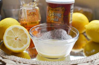 Baking Soda dan Lemon