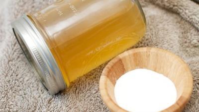 Baking Soda dan Cuka Apel