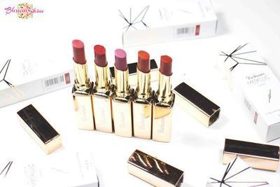 Mau Mencoba Lipstik Metalik yang Hasilnya Soft? Yuk Pakai Purbasari Metallic Color Mate Lipstick