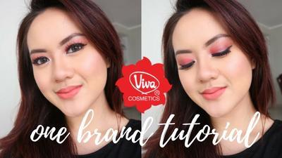 Tampil Natural? Ikuti Saja One Brand Tutorial Makeup dengan Produk Viva Cosmetics Ini!
