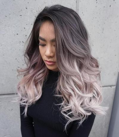 Coloured ombre