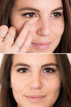 Apply Your Make Up with Finger for Concentrated Application