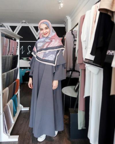 Hijab Motif Full Print