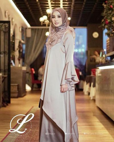 Hijab Motif untuk Tampilan Mewah