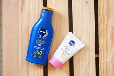 Nivea Sun Face Protect & White Cream