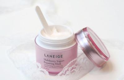 Laneige Multiberry Yogurt Repairing Mask