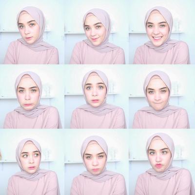 Mirip Banget! Ini Hasil Beauty Vlogger yang Membuat Re-Create Makeup Tutorial Ala Hamidah Rachmayanti