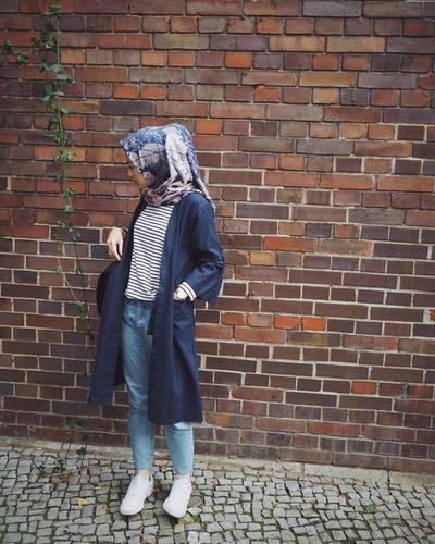 Midi-Long Outer Plus Jeans for Casual Look