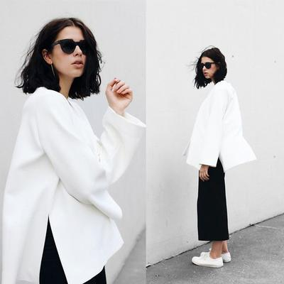 Monochrome Look is The Best!