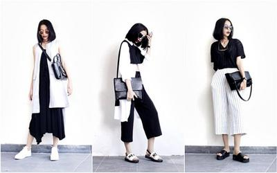 [FORUM] Gimana caranya pakai baju hitam putih supaya gak terlihat kaya mau interview?