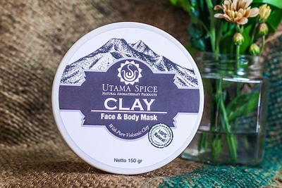 Utama Spice Clay Face and Body Mask