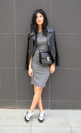 Shirt Dresses & Leather Jacket