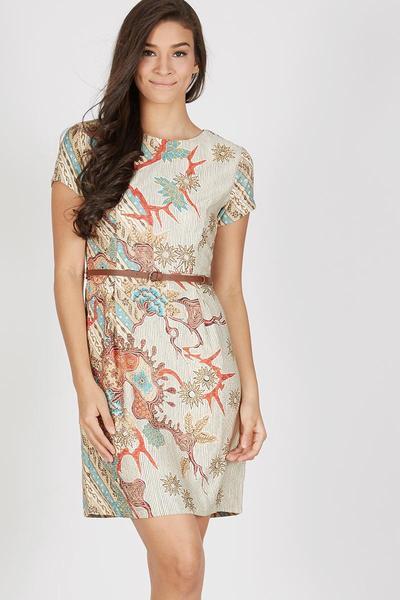 dress batik untuk kerja