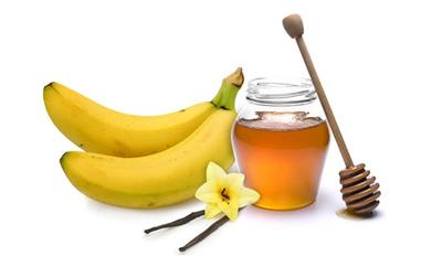 pisang dan madu