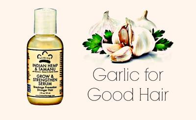 Hair Product with Garlic