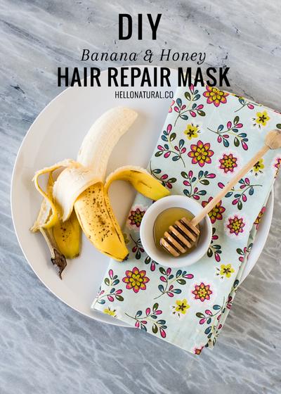 Variasi Resep Perawatan Rambut dengan Pisang