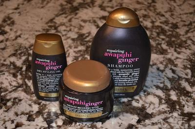 Hair Product with Ginger