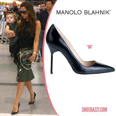 Celebs in Manolo Blahnik