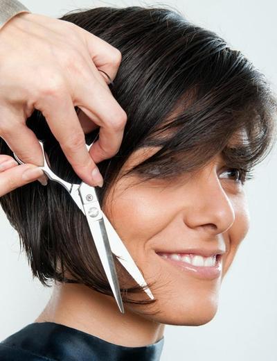 3. Potong rambut