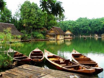 Kampung Sampireun, Garut
