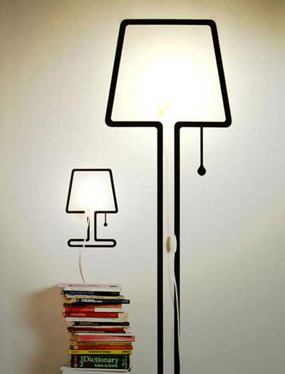 Wall Sticker Lamp!