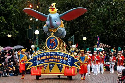 9. Hong Kong Disneyland - Hongkong