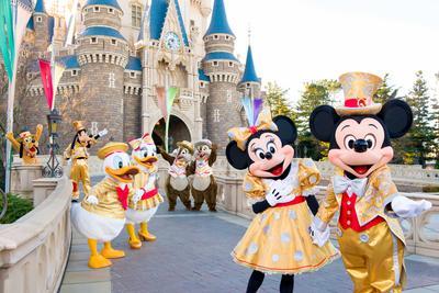3. Tokyo Disney Resort - Tokyo, Jepang