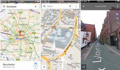 3. Google Map