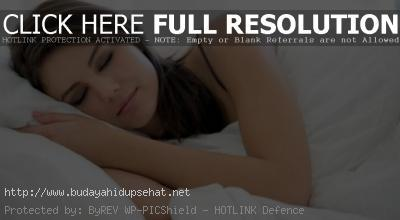 Tips Membakar Kalori Berlebih Saat Tidur