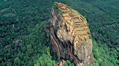 Kota Tua Sigiriya - Sri Lanka